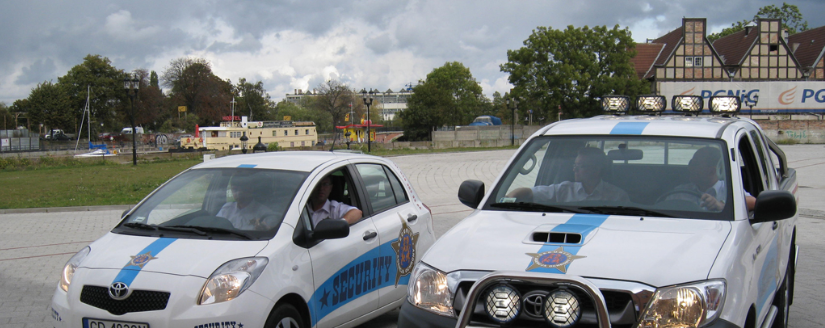 Security Ochrona - patrole zmotoryzowane